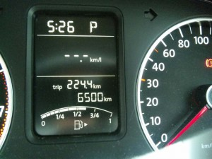 6500km