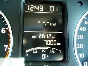 7000km