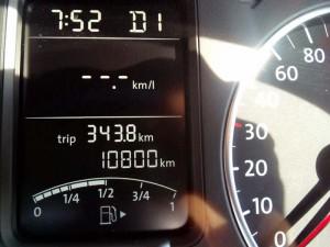 10800km