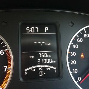 21000km