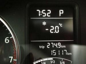 -2.0℃