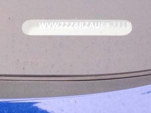 フォルクスワーゲンの車体番号