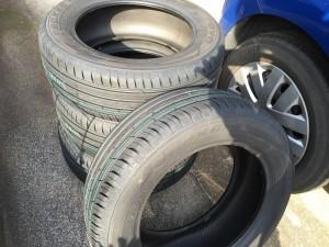 タイヤが届きました