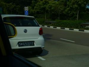 シンガポール旅行で見かけたポロ