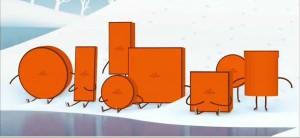 オレンジの箱