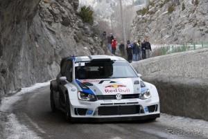 フォルクスワーゲン ポロR、WRCデビュー戦で2位