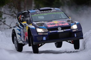 フォルクスワーゲンの「ポロ R WRC」第2戦「ラリー・スウェーデン」で勝利!