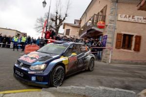 フォルクスワーゲン「POLO R WRC」開幕戦で1-3位独占!