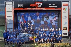 「ポロ R WRC」3年連続でWRCマニュファクチャラーズチャンピオン!