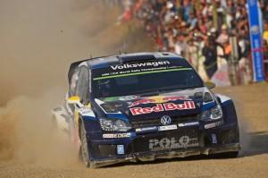 フォルクスワーゲンの「ポロ R WRC」がWRCで開幕3連勝!